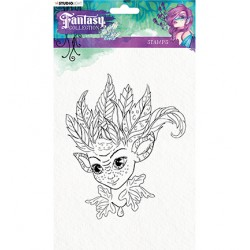 (STAMPFC374)Studio light Stamp Fairy, Fantasy Collection nr.374