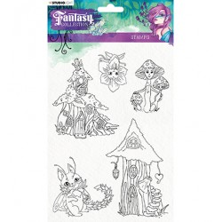 (STAMPFC376)Studio light Stamp Fairy, Fantasy Collection nr.376