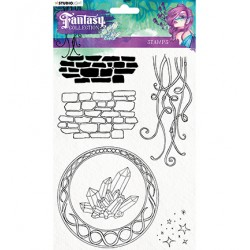 (STAMPFC377)Studio light Stamp Fairy, Fantasy Collection nr.377