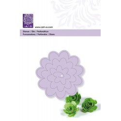 (18560136)Punch template 3D flower 2