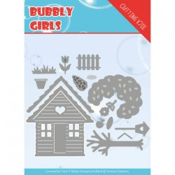 (YCD10169)Dies - Yvonne Creations - Bubbly girls- In the Garden