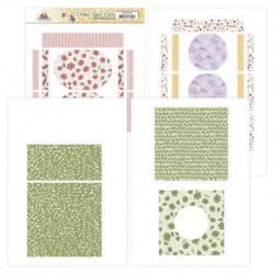 (PMFC10001)Printed Figure Cards - Precious Marieke - Blooming Summer