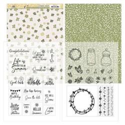 (PMMC1001)Mica Sheets - Precious Marieke - Blooming Summer
