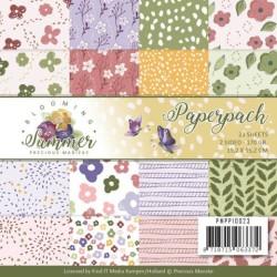 (PMPP10023)Paperpack - Precious Marieke - Blooming Summer