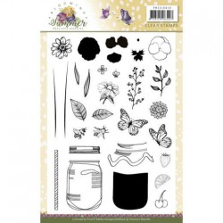 (PMCS10040)Clear Stamps - Precious Marieke - Blooming Summer