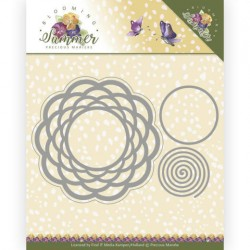 (PM10152)Dies - Precious Marieke - Blooming Summer - Braided Circle