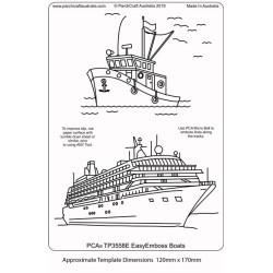 (TP3558E)PCA® - EasyEmboss Boats