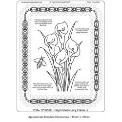 (TP3559E)PCA® - EasyEmboss Lacy Frame - 2