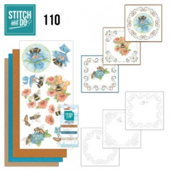(STDO110)Stitch and Do 110 Bees and Flowers