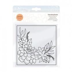 (2458E)Tonic Studios • Embossing folder flourishing garden