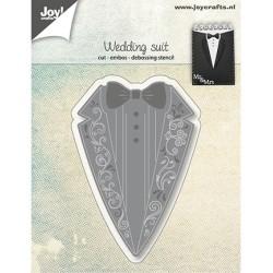 (6002/1264)Cutting, embossing & debossing dies wedding suit