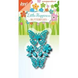 (6002/1302)Cutting dies Noor - LH - Butterflies