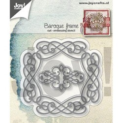 (6002/1291)Cutting & embossing dies baroque frame