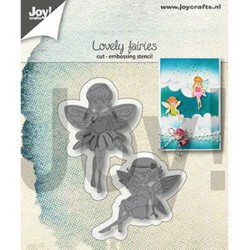 (6002/1306)Cutting & embossing dies lovely fairies