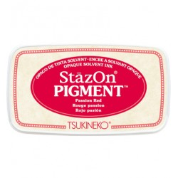 (SZ-PIG-21)StazOn Pigment Passion Red