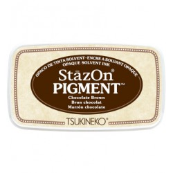 (SZ-PIG-41)StazOn Pigment Chocolate Brown