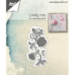 (6002/1190)Cutting & Embossing dies Lovely Rose