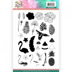 (YCCS10051)Clear Stamps - Yvonne Creations - Happy Tropics