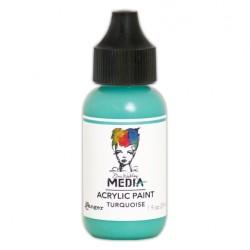 (MDQ54108)Ranger Dina Wakley media heavy body acrylic paint turquoise