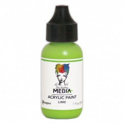 (MDQ54030)Ranger Dina Wakley media heavy body acrylic paint lime