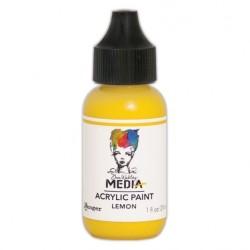 (MDQ54023)Ranger Dina Wakley media heavy body acrylic paint lemon