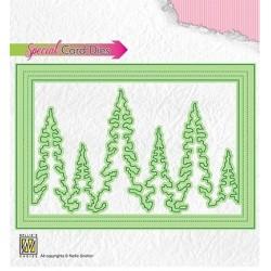 (CBD004)Nellie's Shake Card dies Pinetree