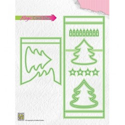 (MCD006)Nellie's Magic Card Die Pinetree