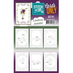 (COSTDOA610001)Cards only Stitch A8