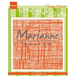 (DF3453)Marianne Design Folder Linnen