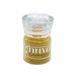 (617N)Tonic Studios Nuvo embossing powder golden sunflower