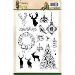 (ADCS10059)Clear Stamps - Amy Design - Christmas in Gold - Images
