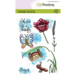 (1633)CraftEmotions clearstamps A6 - Bugs 3 Carla Creaties
