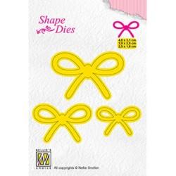 (SD163)Nellie's Shape Dies 3x bow