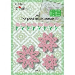(SNCD001)Snellen Crafts dies Flowers