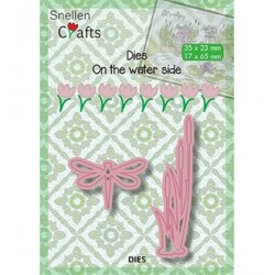 (SNCD003)Snellen Crafts dies dragonfly and bulrushes