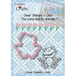 (SNCCS001)Snellen Crafts dies + stamp Frog