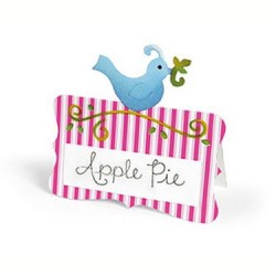 (658004)Bigz Die - Place Card w/Bird