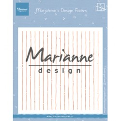 (DF3456)Marianne Design Folder Marjoleine's stripes