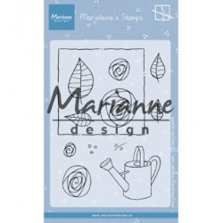 (MZ1901)Clear stamp Marjoleine's roses