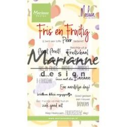 (CS1030)Clear stamp Marleen's Fris & Fruitig