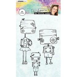 (STAMPSHC01)Studio light Stamp Shirly Cohen nr. 01