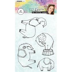 (STAMPSHC02)Studio light Stamp Shirly Cohen nr. 02