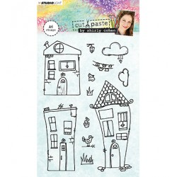 (STAMPSHC03)Studio light Stamp Shirly Cohen nr. 03