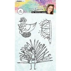 (STAMPSHC04)Studio light Stamp Shirly Cohen nr. 04