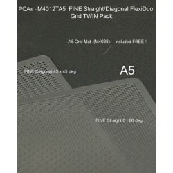 (M4012TA5)PCA® - FINE A5 Straight/Diagonal TWIN Pack FlexiDuo Grid
