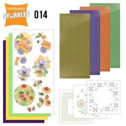 (SPDO014)Sparkles Set 14 - Buzzing Bees