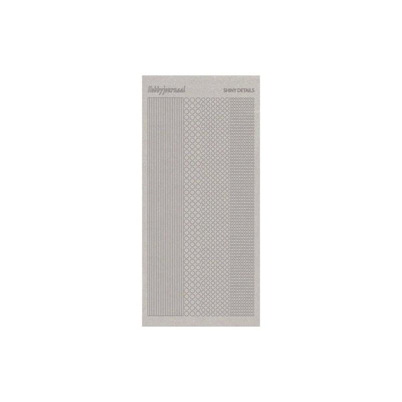 (SDS001TZ)Shiny Details 1 - Zilver