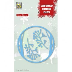 (LCDCD001)Nellie's Layered combi dies Christmas Deer (Layer A)
