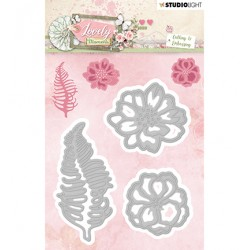 (STENCILLM210)Studio Light Cutting and Embossing Die Lovely Moments nr.210