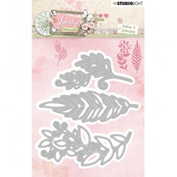 (STENCILLM211)Studio Light Cutting and Embossing Die Lovely Moments nr.211